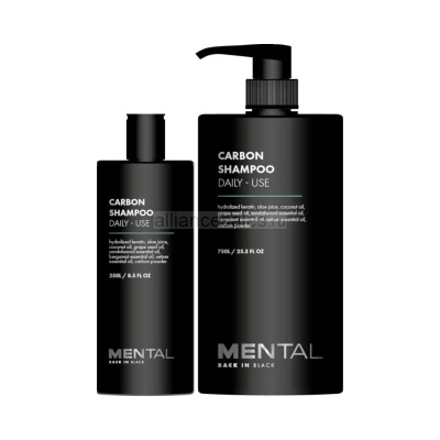 Шампунь MENTAL CARBON SHAMPOO DAILY - USE
